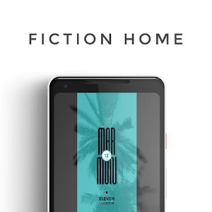 Fiction Home for KLWP app for android