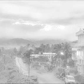 Hills has eyes by Vinod Velayudhan - Landscapes Weather ( fog, wadakanchery, weather, kerala, morning, landscape )