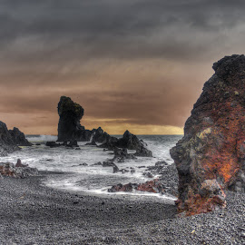 Djúpalónssandur by Hraunið      Hekla - Landscapes Waterscapes ( iceland, snaefellsnes )