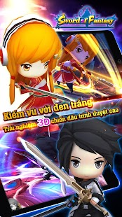 Sword of Fantasy-Game đồ họa - screenshot