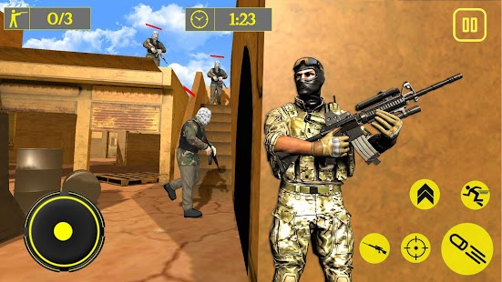 US Army Frontline Special Forces Commando Mission