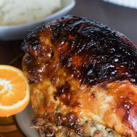 Orange Glazed Turkey