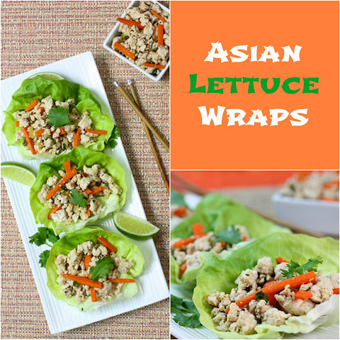 Pork & Green Bean Lettuce Wraps With Sesame Hoisin Sauce Recipes ...