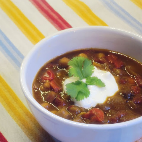 Warming Chickpea Soup