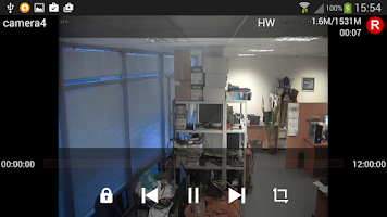 Screenshot of RTSP Player ( IP Cam Viewer )