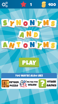 synonyms and antonyms (the game) apk screenshot