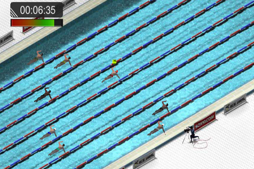 Swimming Race 2016 screenshot 6