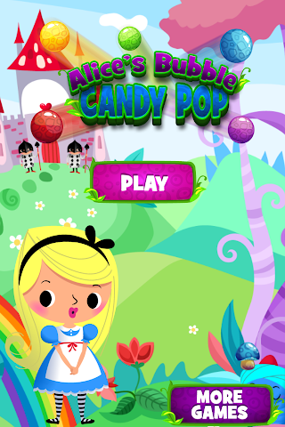 android Alice in Bubble Candy Pop FREE Screenshot 0