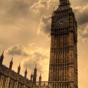Big Ben HDR by Gaurav Dhup - Landscapes Travel ( uk, london, hdr, clock, ben, big, World, Beauty, Beautiful, Representing, Special, , landmark, travel )