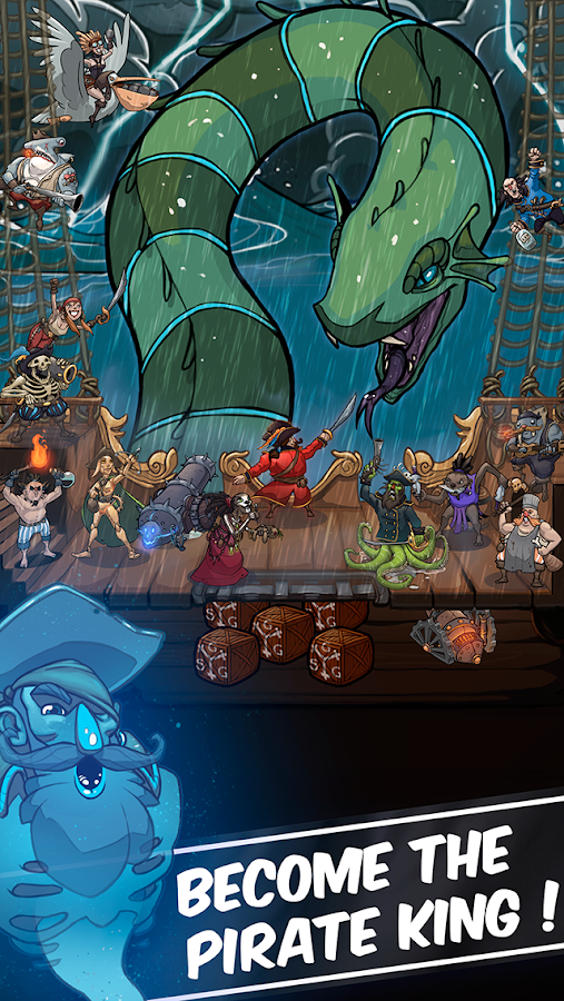 Clicker Pirates - Tap to fight Screenshot 10