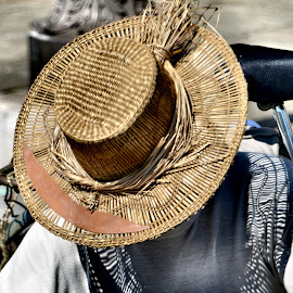 The hat and its shadow by Alberto Schiavo - People Street & Candids