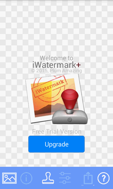 iWatermark+ Free Add Text Logo Screenshot 1