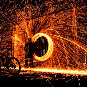 by John Iosifidis - Abstract Fire & Fireworks
