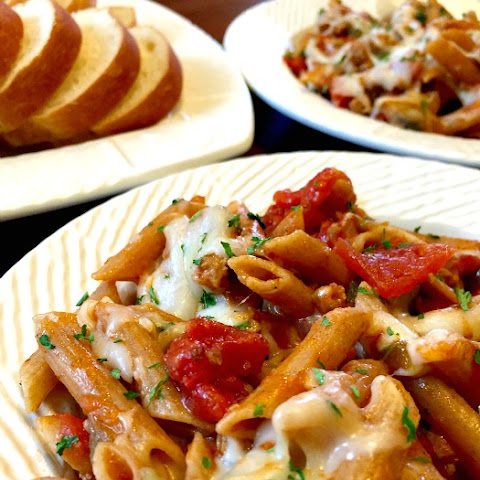 One Pot Sweet Italian Sausage Pasta