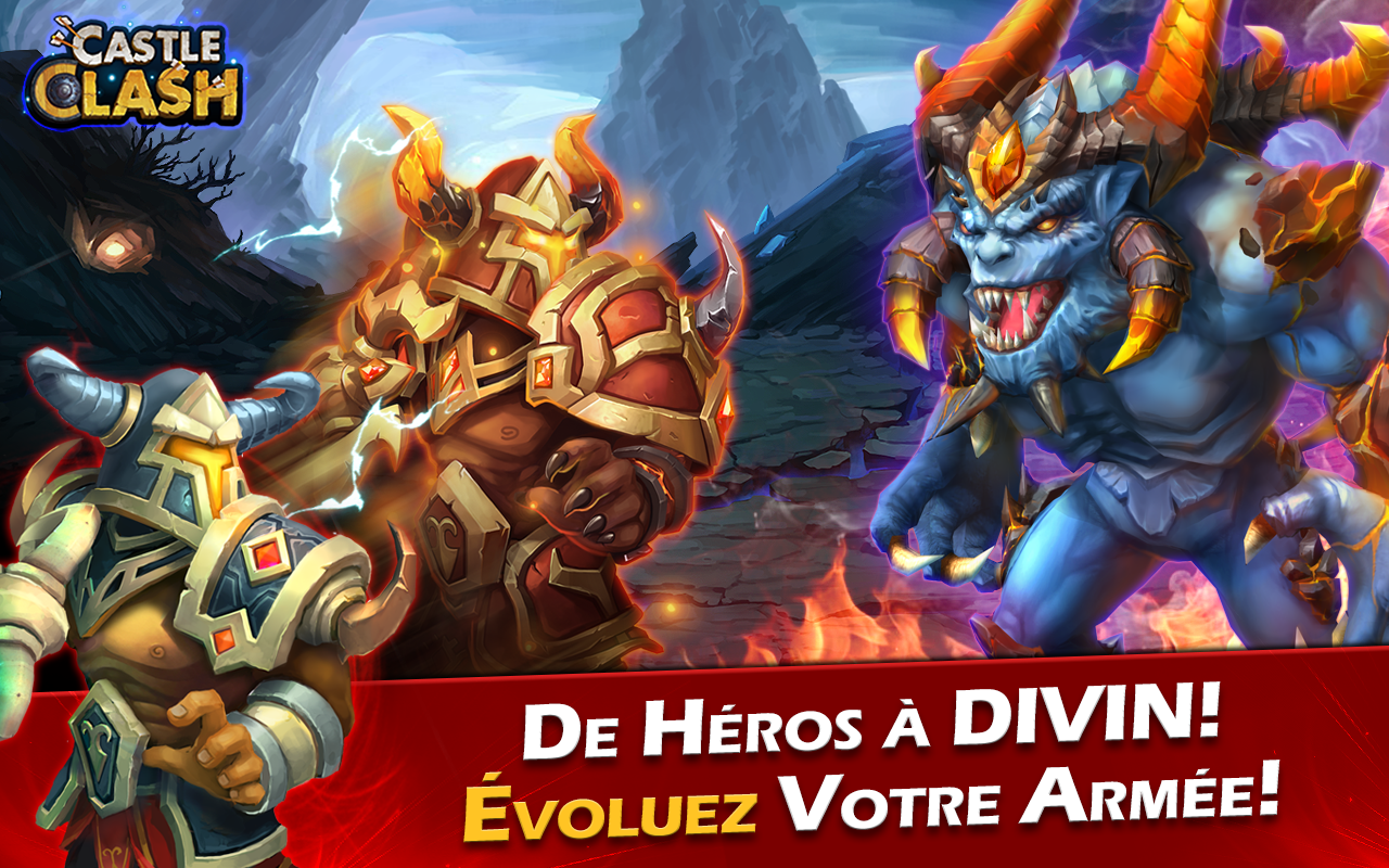 Castle Clash: Ère des Légendes Screenshot 4