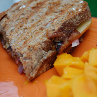 Apple Gruyere Panini