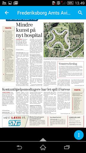 Frederiksborg Amts Avis - screenshot