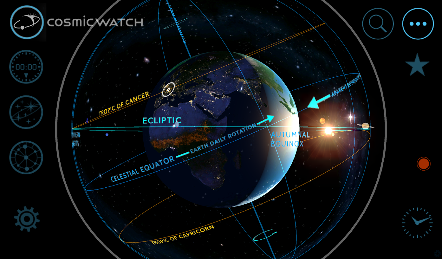 Cosmic-Watch Screenshot 12