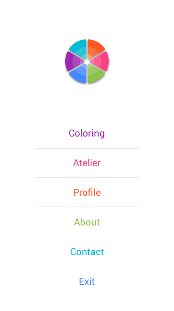 ColourGo - Coloring book Screenshot 3