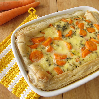 Vegetarian Pot Pie With Puff Pastry Recipes