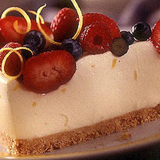 Chilled Lemon Berry Cheesecake