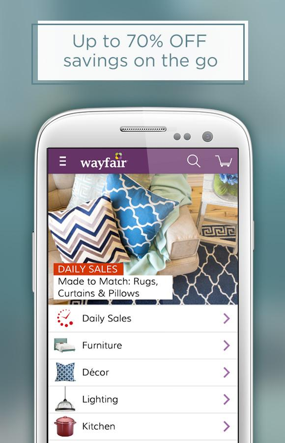 Wayfair - Furniture & Decor Screenshot 0