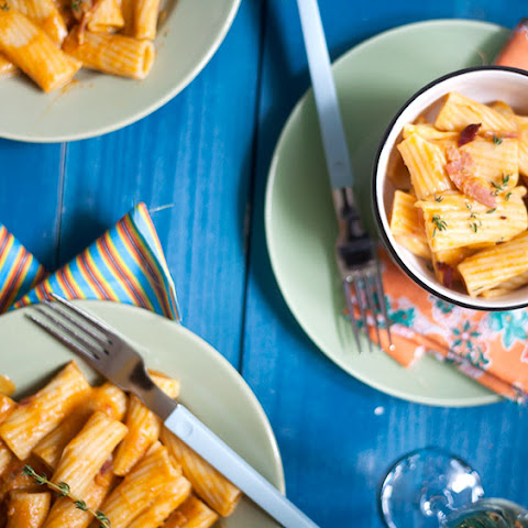 Rigatoni Sherried Pumpkin Sauce
