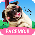 Dog Face Sticker with Lovely Style for Snapchat APK for Bluestacks