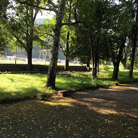 Парк by Georgi Kolev - City,  Street & Park  City Parks ( треви., слънце., сенки., ден., дървета. )