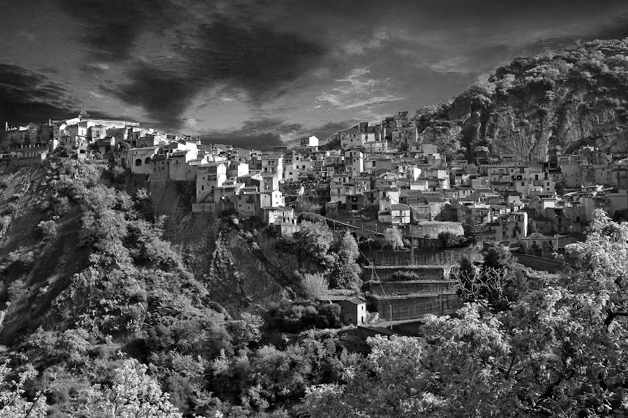 motta c by Almas Bavcic - Landscapes Travel ( hills, village, travel, landscape, sicily )