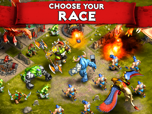 Heroes of War: Orcs vs Knights - screenshot