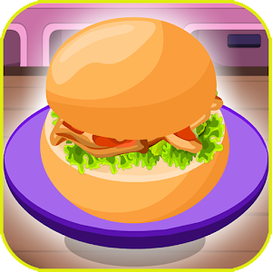 Kids Burger Maker - Fast Food