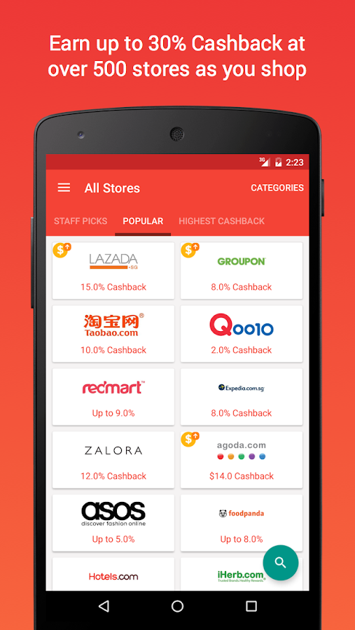 ShopBack - Shopping & Cashback Screenshot 1