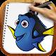 Draw Dory and Nemo