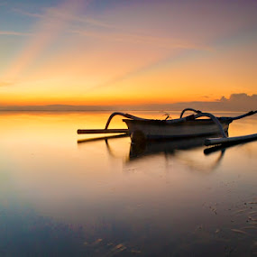 Roll In The Morning by Agus Devayana - Landscapes Sunsets & Sunrises