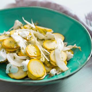 Summer Squash Salad Dill Recipes
