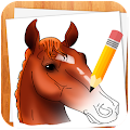 APK App How to Draw Horses for BB, BlackBerry