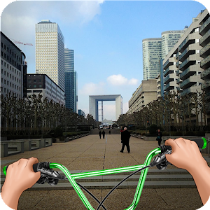 Drive BMX in City Simulator