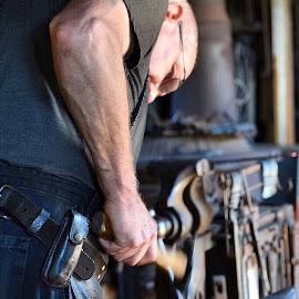 Blacksmith by Bridget Wegrzyn - People Professional People
