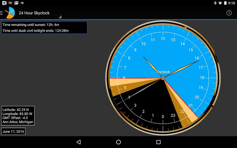 Skyclock Screenshot 8