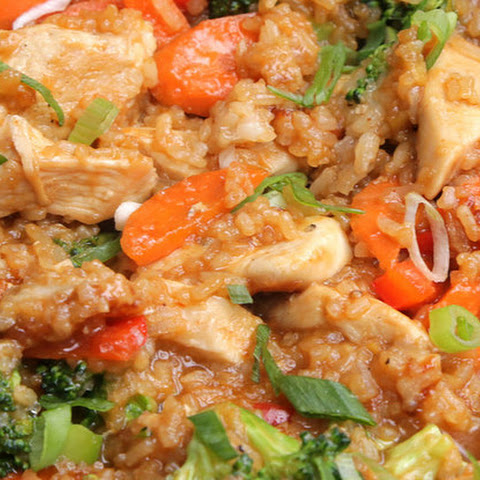 1. One-Pot Teriyaki Chicken And Rice