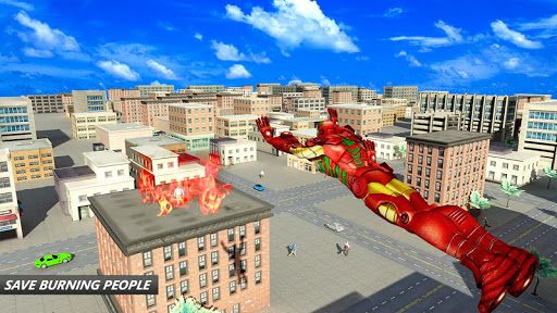 Flying Robot Superhero: Crime City Rescue For PC