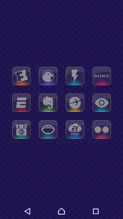 Color Gloss - Icon Pack Screenshot 4