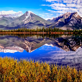 Jasper NP by Stanley P. - Landscapes Mountains & Hills