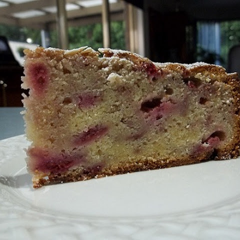 Raspberry and Almond Cake