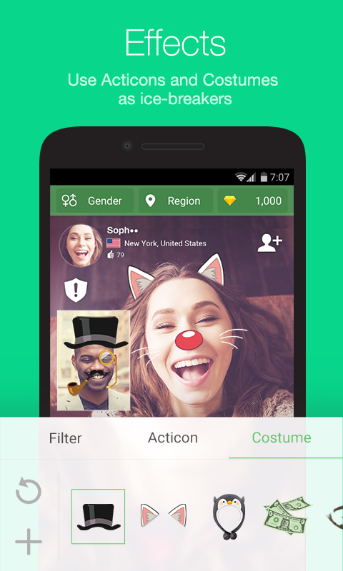 Azar-Video Chat&Call,Messenger Screenshot 4
