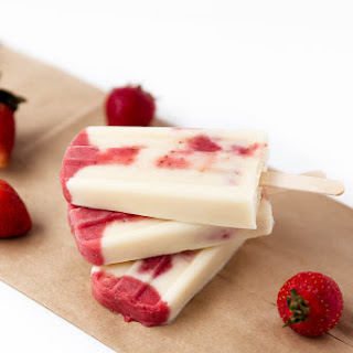 Strawberry Milk Popsicles Recipes
