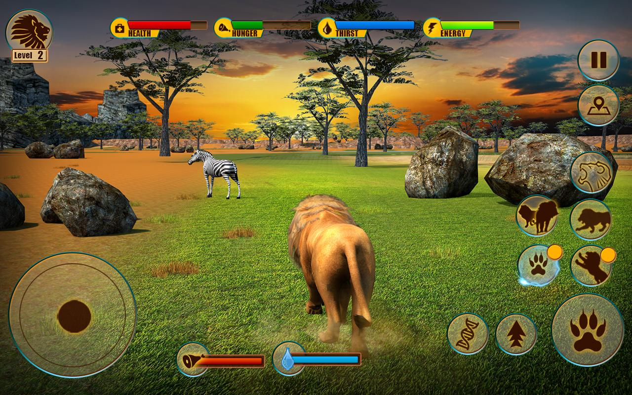 Ultimate Lion Adventure 3D Screenshot 8