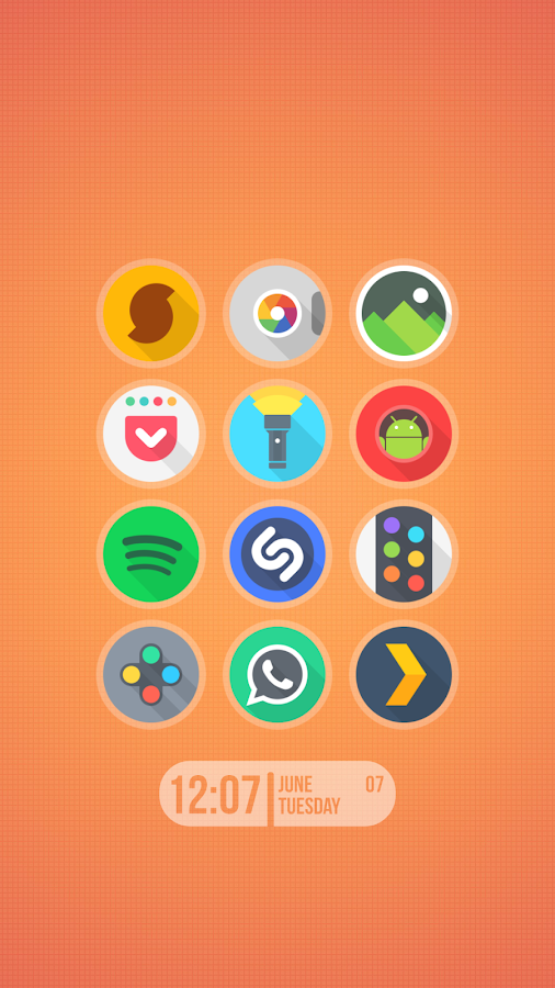 Around - Icon Pack Screenshot 0