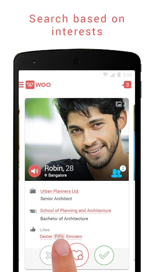 Woo – Matchmaking for singles Screenshot 2
